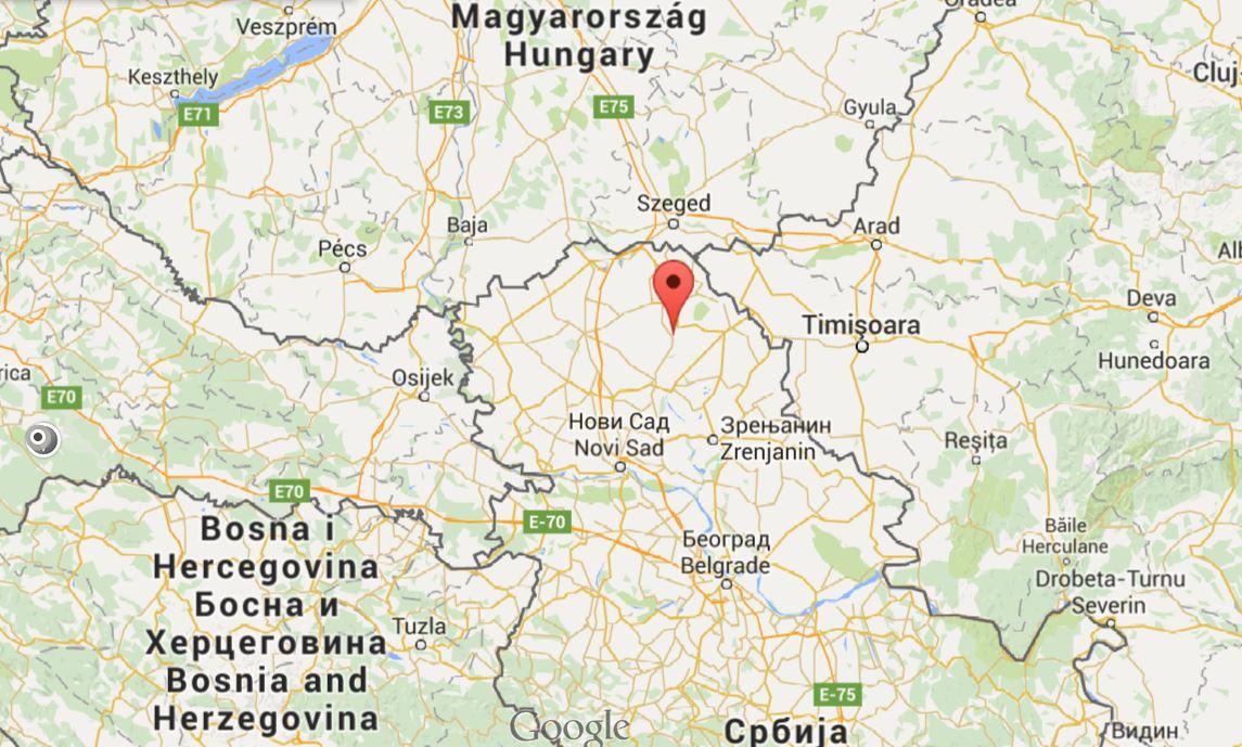 ada mapa Ada – Vojvodina Development Agency ada mapa