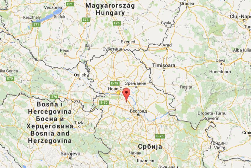 indjija mapa Inđija – Vojvodina Development Agency indjija mapa
