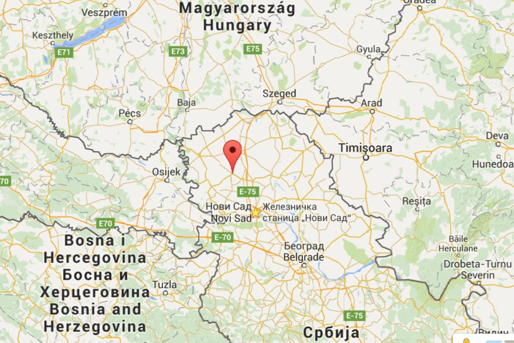 mapa sombor Kula – Vojvodina Development Agency mapa sombor