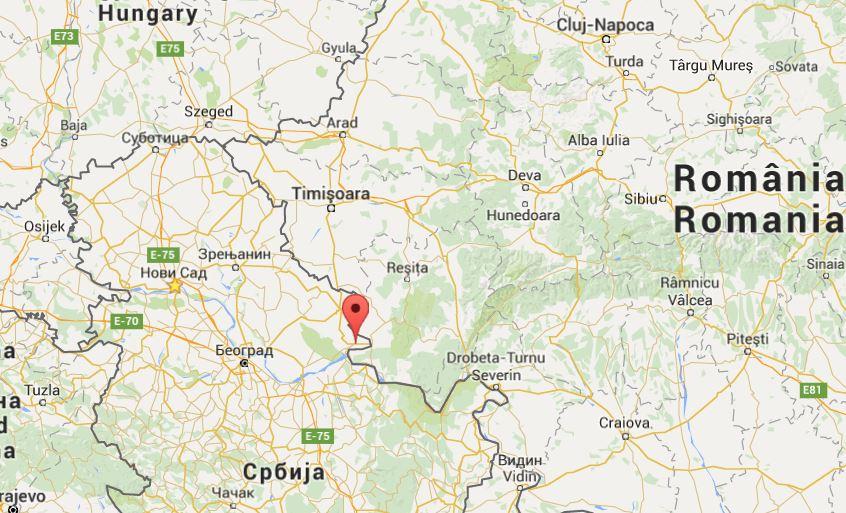 Bela Crkva mapa