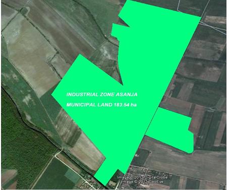 Industrial zone – Asanja