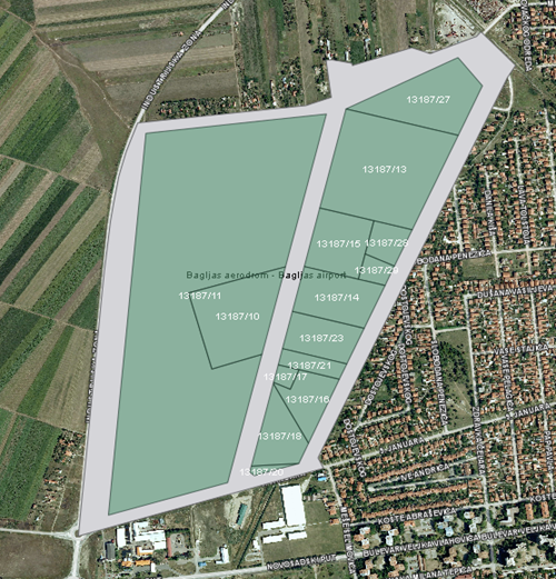 Industrial Zone – Bagljas Airport