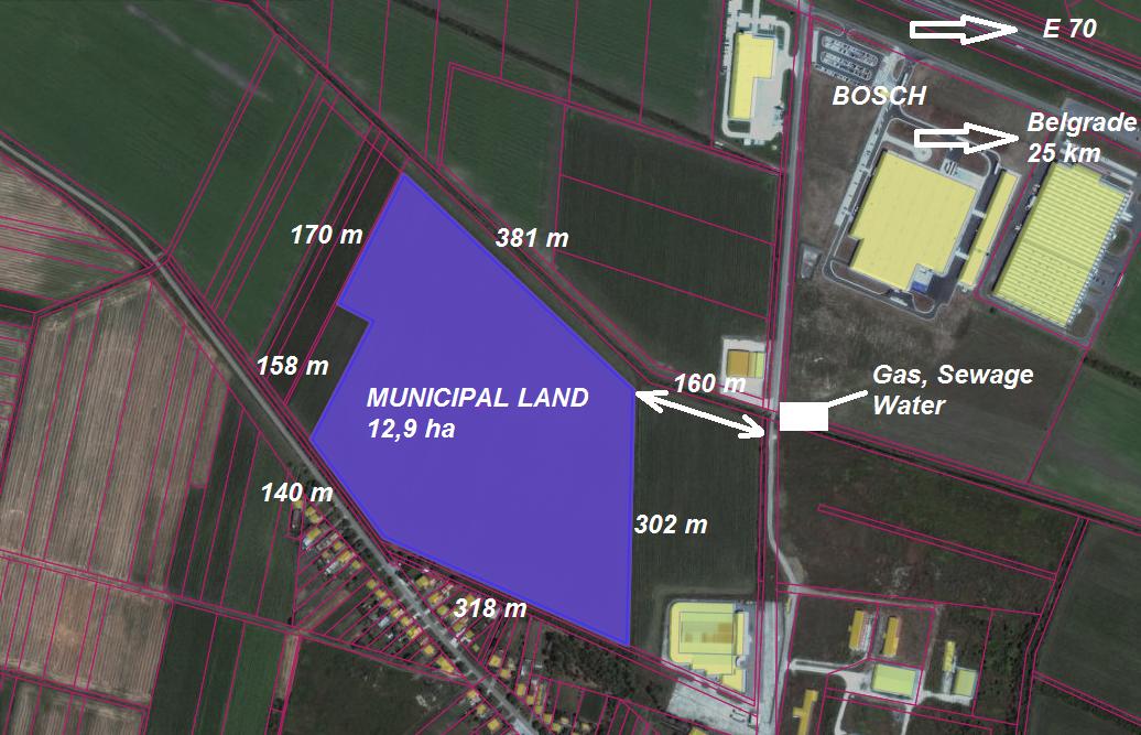 Industrial zone – Simanovci North