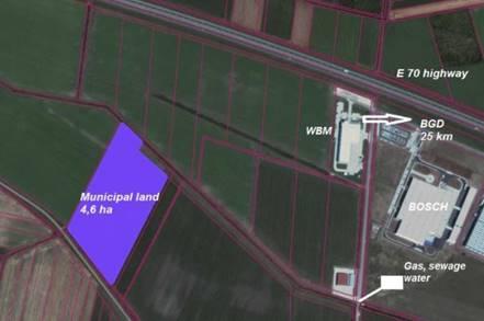 Industrial zone – Simanovci North 2