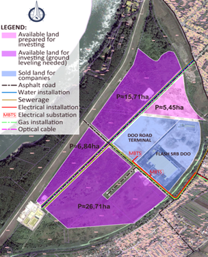 Industrial zone - RTC Apatin