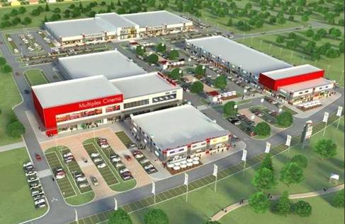 Mini Shoping Centre or Retail Park